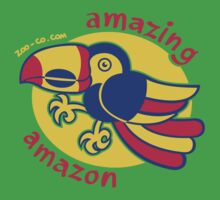 Amazonian Toucan by Zoo-co