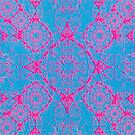 Iridium Atoms Blue Pink by atomicshop