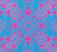 Iridium Atoms Blue Pink by atomicshop