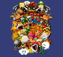Super Mario Brothers 3 Battle for the Mushroom Kingdom Unisex T-Shirt