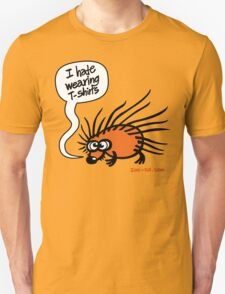 Angry Hedgehog Unisex T-Shirt