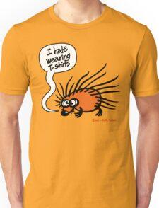 Angry Hedgehog Unisex T-Shirt