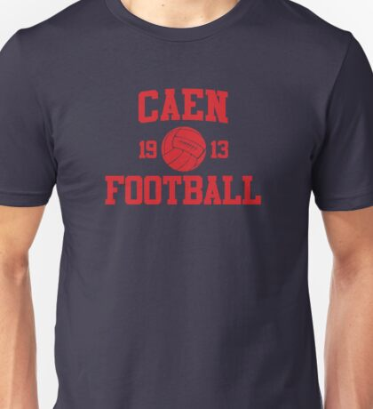 Caen Football Athletic College Style 2 Color Unisex T-Shirt