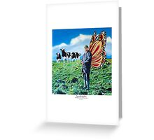 Tony with onlookers Greeting Card