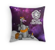 Figment in Space Throw Pillow