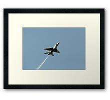 Lone Thunderbird Framed Print