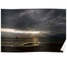 Shining Through Stormy Weather Poster