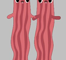 Love Bacon Gry by retroburp