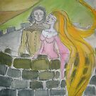 Rapunzel - A Hair Story by Anthea  Slade