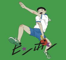 Ping Pong The Animation Print Peco One Piece - Short Sleeve