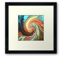 Send Me A Sign ~ Abstract31 Art + Products Design  Framed Print