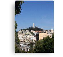 San Francisco - Coit Tower Canvas Print