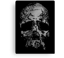 Faded Old-Skull Canvas Print
