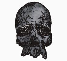 Faded Old-Skull Baby Tee