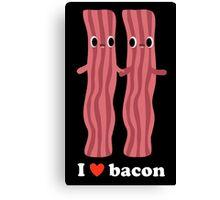 Love Bacon Canvas Print