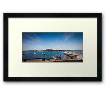 Portaferry Ireland Framed Print