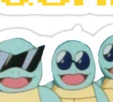 Squirtle Squad Goals Sticker