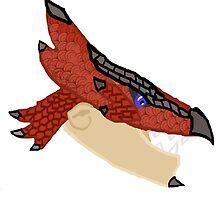 Monster Hunter Rathalos by SugarDove