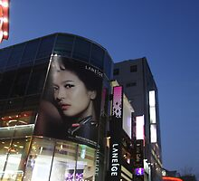 Seoul Korea - A night in Myeongdong II by adpixels