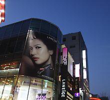 Seoul Korea - A night in Myeongdong II by adpixels