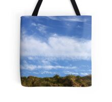 Above, the sky Tote Bag