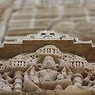 Temple Sculpture, Chittorgarh, Rajasthan, India by RIYAZ POCKETWALA