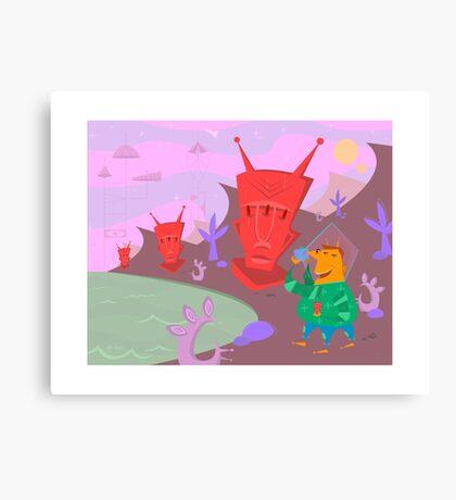 Mo-Out Of This World Canvas Print