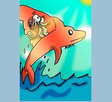 Dolphin WindSurfer Unisex T-Shirt