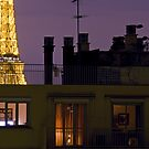 France - Paris 75016 - By night by Thierry Beauvir