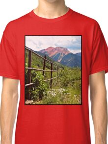 Fence At Ouray Classic T-Shirt