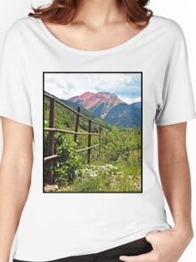 Fence At Ouray Women's Relaxed Fit T-Shirt