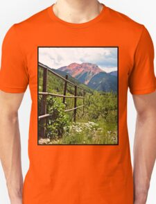 Fence At Ouray T-Shirt