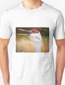 Bird Art - Look Who's Talking T-Shirt