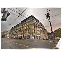 Street Scene No1 Poster