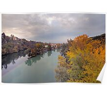 River Rhone and Arve Poster