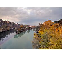 River Rhone and Arve Photographic Print