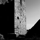 Tin Mine Ruin  by PhotoVision