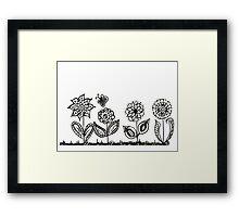 It's a Flower Garden Framed Print