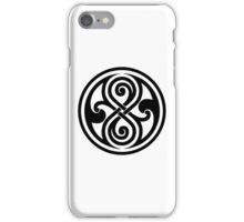 Seal of Rassilon  iPhone Case/Skin