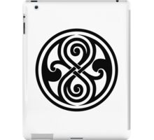 Seal of Rassilon  iPad Case/Skin
