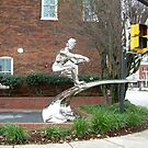 Ski-ing on Concrete in NC by RealPainter