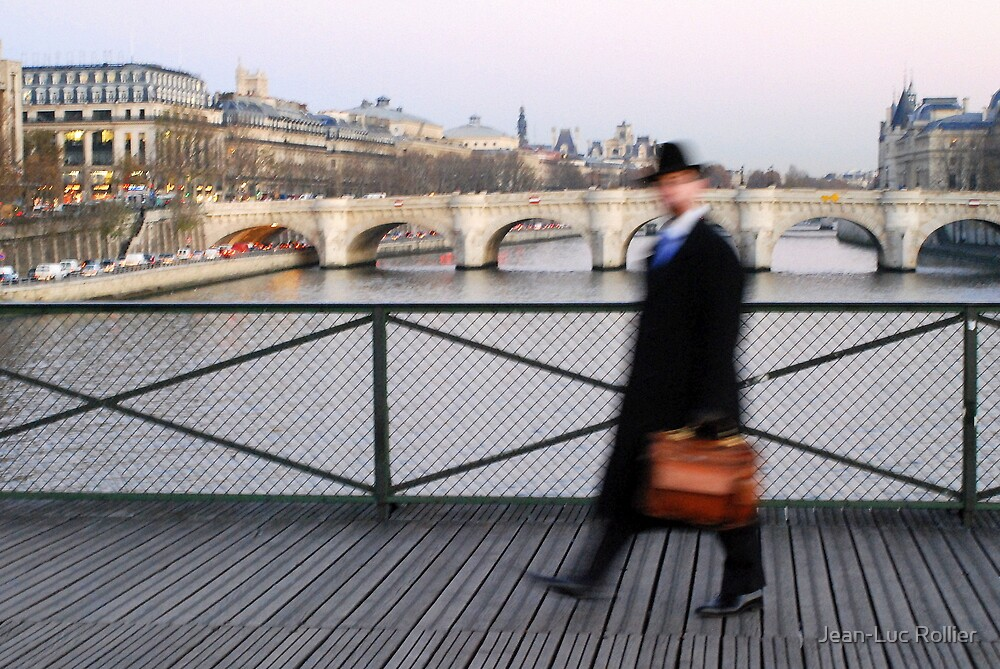 Mr Blur in Paris by Jean-Luc Rollier
