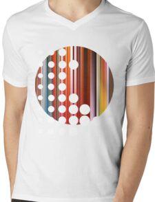 Circle Mens V-Neck T-Shirt