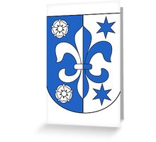 Fehraltorf coat of arms Greeting Card