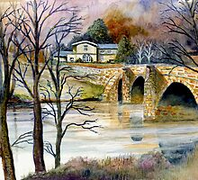 Kirkham Priory by John Moore