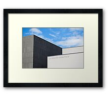 Modern Building of Mozart University, Salzburg, Austria   Framed Print
