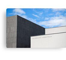 Modern Building of Mozart University, Salzburg, Austria   Canvas Print
