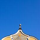Sundial at Hellbrunn Palace in Salzburg, Austria  by Petr Svarc
