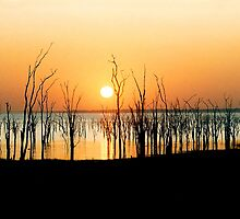 Kariba sunrise by Rachael Talibart