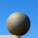 Gehry's Sphere (Esfera) Sculpture, Barcelona (Spain)  by Petr Svarc